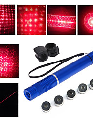 LT - 5mw 650nm Visible Adjustable Beam Red Laser  Pen Flashlight - Black Red  Golden Sliver Blue