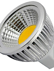 cheap -4W 400 lm GU5.3(MR16) LED Spotlight MR16 1 leds COB Decorative Warm White Cold White DC 12V