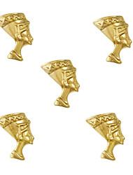 preiswerte -- Finger / Zehe / Andere - Nail Schmuck / Andere Dekorationen - Metall - 10 Stück - 6*5*1 cm