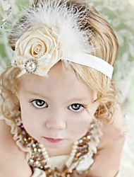 cheap -Girls' Hair Accessories, All Seasons Cotton Headbands - White