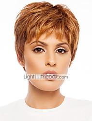 economico -parrucca di capelli corto femminile nuovo arrivo affascinante remy vergini umani pendere-legato senza cappuccio top