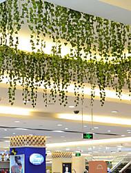 Větev Polyester Rostliny Květina na zeď Umělé květiny 200*6*6
