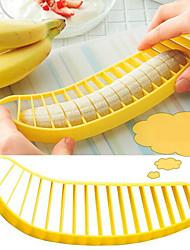 prática fruta slicer cortador de banana bananas faca slicer