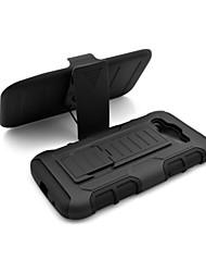 رخيصةأون -غطاء من أجل Samsung Galaxy حالة سامسونج غالاكسي ضد الصدمات / مع حامل غطاء خلفي درع الكمبيوتر الشخصي إلى Grand Prime / Core Prime