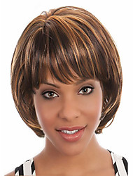 cheap -new style bang of short bob syntheic hair wig extensions girl s favorite