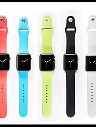economico -Cinturino per orologio  per Apple Watch Series 3 / 2 / 1 Apple Custodia con cinturino a strappo Cinturino sportivo