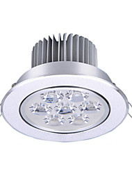 cheap -1pcs 7W LED Recessed Lights 7 High Power LED 650lm Warm White Cold White AC85-265V