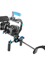 dslr rig professionale set cinematografico sistema corredo realizzazione di un film per tutte le fotocamere reflex digitali e videocamere