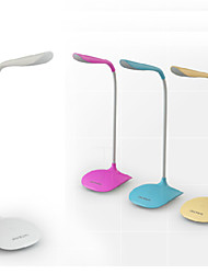 cheap -Modern / Contemporary LED Desk Lamp For PVC Yellow / Pink / Light Blue