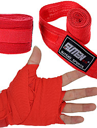 cheap -Hand Wraps Hand & Wrist Brace for Taekwondo Boxing Sanda Muay Thai Karate Martial art Unisex Adjustable Elastic Sweat-wicking Breathable