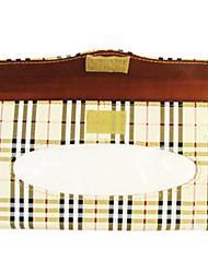 caixa de tecido viseira papel titular guardanapo couro sol do carro auto acessórios