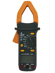 HYELEC MS2101 Auto Range AC/DC Current Voltage Digital Clamp Meter with Temperature Test
