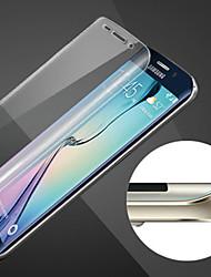 esfera cobertura total à prova de riscos de filme de aço de vidro à prova de impressão digital suave hd para Samsung Galaxy S6 borda +