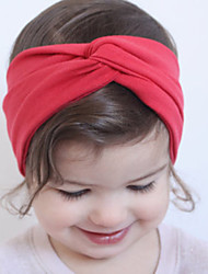 cheap -Girls' Hair Accessories, All Seasons Cotton Headbands - Fuchsia Red Blue Pink Royal Blue