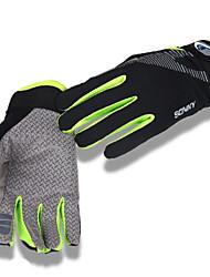 Aktivitets- / Sportshandsker Cykelhandsker Ultraviolet Resistent Åndbart Reducerer gnavesår Beskyttende Solcreme Fuld Finger Spandex Nylon
