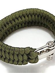 baratos -Bracelete de Sobrevivência Tático, Emergência, Sobrevivência para Acampar e Caminhar / Pesca - Náilon