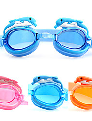 Made In China Schwimmbrille Kinder Anti-Beschlag / Wasserdicht / Verstellbare Größe Acetat Acryl Rosa / Blau / Orange Rosa / Blau / Orange