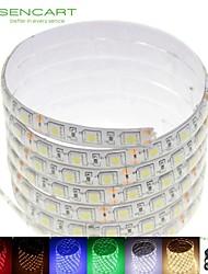 baratos -SENCART 2m Faixas de Luzes LED Flexíveis 120 LEDs 5050 SMD Branco Quente / Branco / Vermelho Impermeável / Cortável / Conetável 100-240 V 1pç / IP68 / Auto-Adesivo
