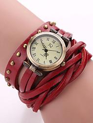 Xu™ Women's Fashion Restoring Ancient Ways Rivet Winding Quartz Watch Cool Watches Unique Watches