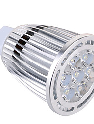 economico -GU5.3(MR16) Faretti LED MR16 7 leds SMD Decorativo Bianco caldo Luce fredda 850lm 2800-3200/6000-6500K AC 85-265 AC 12V