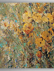 Oil Painting Modern Abstract Flower Hand Painted Canvas with Stretched Framed
