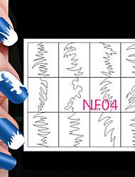 abordables -5x24pcs diferentes tamaños toma de herramienta profesional del arte patrón de uñas