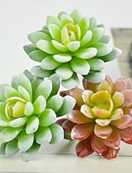 Encrinite Green Plants Plastic Plants Artificial Flowers