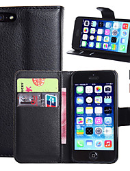 abordables -Funda Para Apple Funda iPhone 5 iPhone 6 iPhone 6 Plus iPhone 7 Plus iPhone 7 Soporte de Coche Cartera con Soporte Flip Funda de Cuerpo