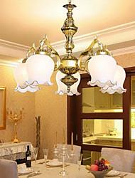 baratos -Rústico/Campestre Vintage Regional Tradicional/Clássico Estilo Mini Lustres Luz Superior Para Sala de Estar Quarto Sala de Jantar Quarto