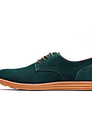cheap -Big Size 38-47 Men's Shoes / Outdoor / Office & Career / Casual Suede OxfordsBlack / Blue / Brown / Yellow / Green