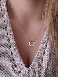 Недорогие -Жен. Ожерелья с подвесками - На заказ, Простой стиль, Мода, Симпатичные Стиль 1 #, 2 # Ожерелье Бижутерия Назначение Для вечеринок, Особые случаи, День рождения, Подарок