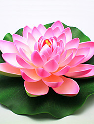 cheap -Household Adornment Flowers PEV Plastic Lotus Artificial Flowers