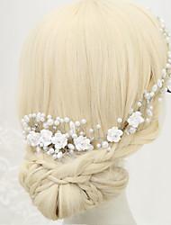 Imitacija bisera Umjetno drago kamenje Legura Kose za kosu 1 Vjenčanje Special Occasion Glava