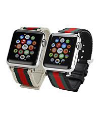 abordables -Ver Banda para Apple Watch Series 3 / 2 / 1 Apple Correa de Muñeca Hebilla Clásica Tejido
