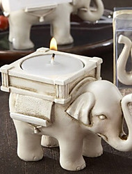cheap -Vintage European Elephant Candle  Holder Home Decoration Wedding Supply