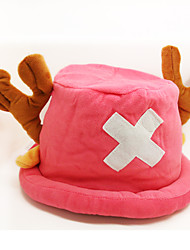 Copricapo Ispirato da One Piece Tony Tony Chopper Anime Accessori Cosplay Cappelli Rosa Pile Uomo / Donna