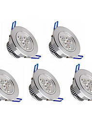 cheap -5pcs 350lm LED Recessed Lights 3 LED Beads High Power LED Dimmable Warm White / Cold White