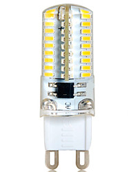 6W G9 LED Bi-pin Lights T 72 SMD 3014 500-550 lm Warm White Cold White 2800-3200/6000-6500 K Decorative AC 220-240 V