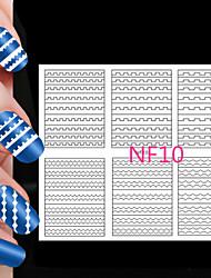 cheap -108PCS Different Sizes Professional Making Pattern Nail Art Tool #10