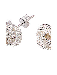 cheap -Women's Stud Earrings Bridal Elegant Costume Jewelry Silver Plated Alloy Jewelry Jewelry For Wedding Party Daily