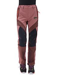 Women's Softshell Pants Waterproof Thermal / Warm Anatomic Design Moisture Permeability Wearable Breathable YKK Zipper Pants / Trousers