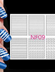 cheap -5X108PCS Different Sizes Professional Making Pattern Nail Art Tool