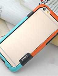 abordables -Funda Para iPhone 6s Plus iPhone 6 Plus Apple iPhone 6 Plus Marco Antigolpes Suave TPU para iPhone 6s Plus iPhone 6 Plus