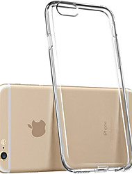 cheap -Case For iPhone 5 Apple iPhone 5 Case Transparent Back Cover Solid Color Soft TPU for iPhone SE/5s iPhone 5