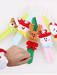 fecho de mão pulseira bola christmas cor presente de Natal aleatório