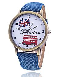 Per uomo Orologio alla moda Orologio da polso Orologio braccialetto Creativo unico orologio Orologio casual Cinese Quarzo Tessuto Banda