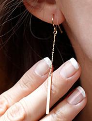 Žene Viseće naušnice Moda Simple Style Legura Jewelry Nakit odjeće
