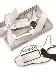Gepäckschilder(Silber) -Nicht-personalisierte-Asiatisches  Thema / Klassisches Thema 12*7.5*2 cm Edelstahl
