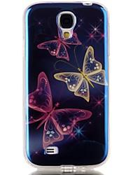 رخيصةأون -غطاء من أجل Samsung Galaxy حالة سامسونج غالاكسي نموذج غطاء خلفي فراشة TPU إلى S6 edge plus / S6 edge / S6