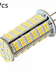 5 pcs G4 5W 126 SMD 3014 450-500LM Warm White / Cool White MR11 Decorative Bi-pin Lights (AC/DC 12-24V)